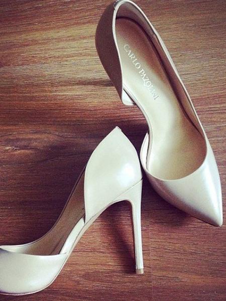 Свадебные женские туфли
